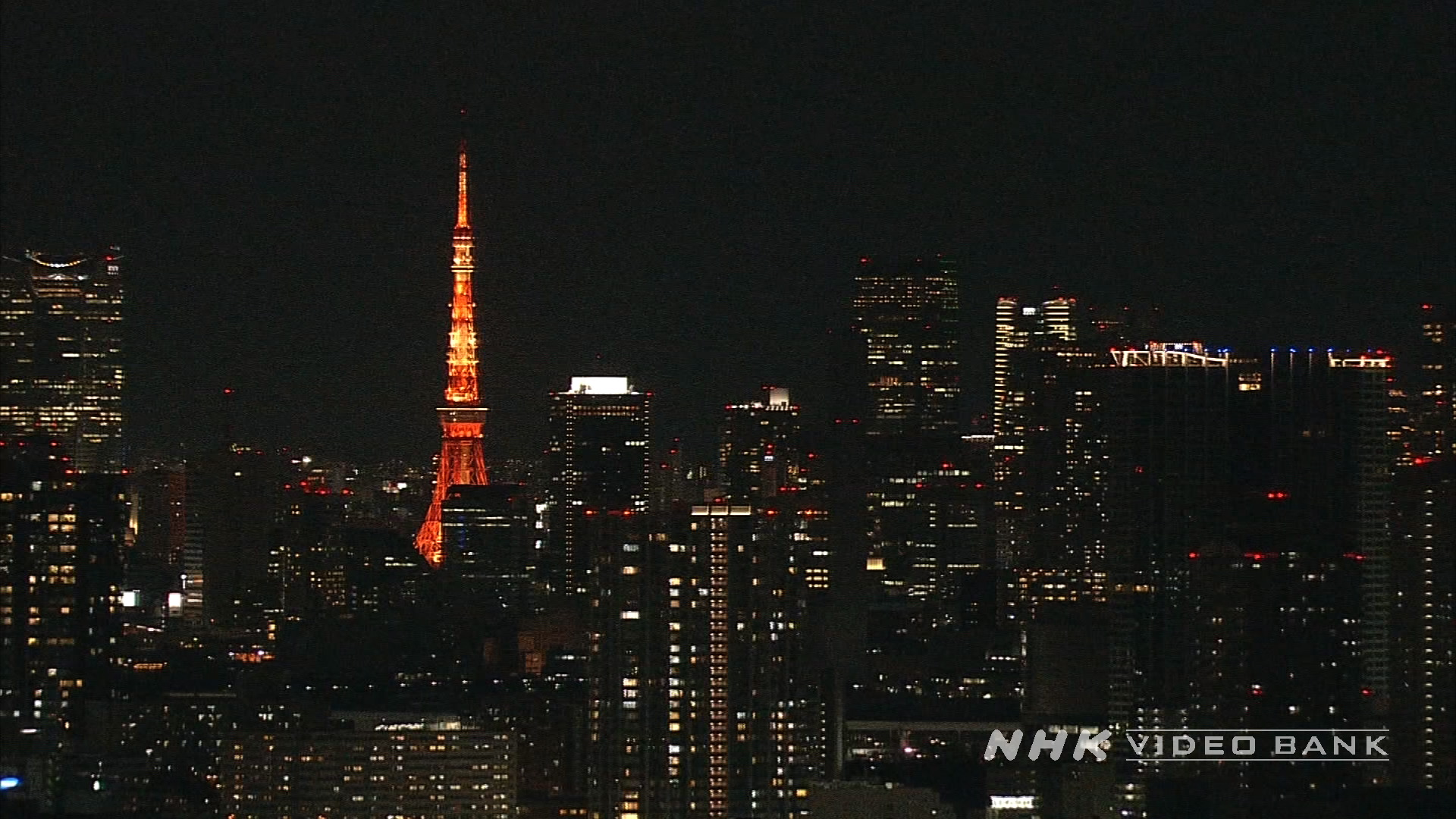 Aerial View of Tokyo II