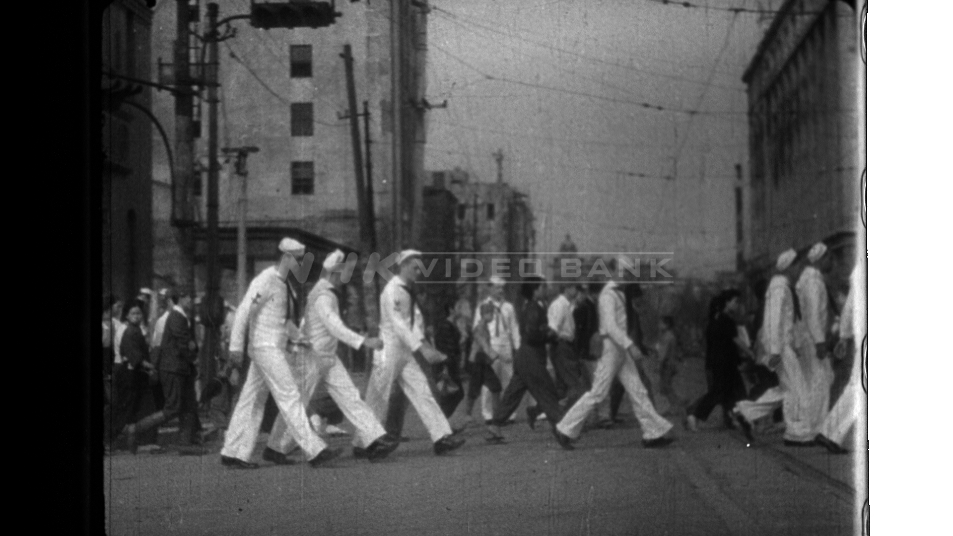 Scenes of the Occupation Army, Tokyo (1945)