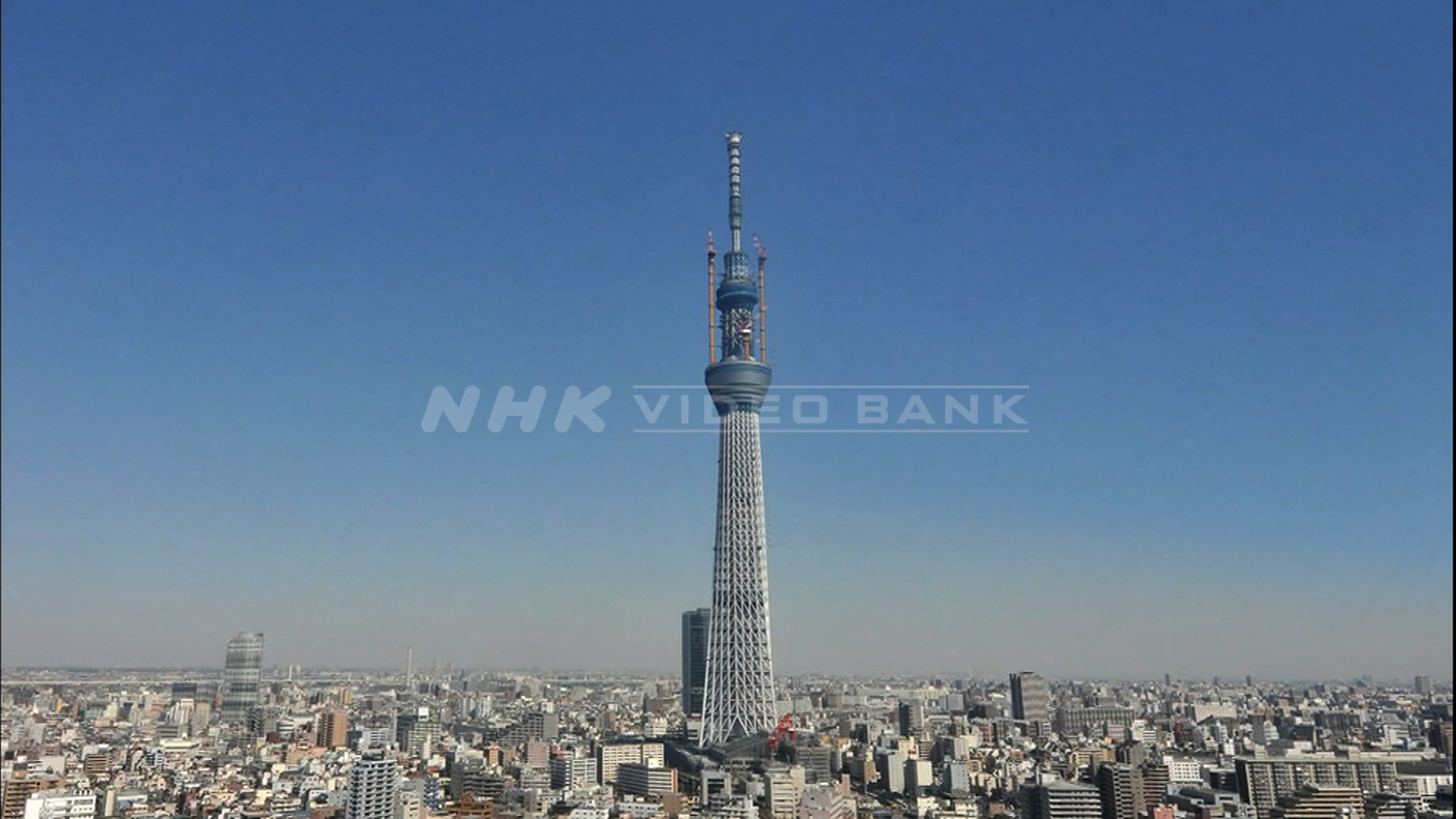 Time Lapse: how TOKYO SKYTREE became the world's tallest free-standing broadcasting tower